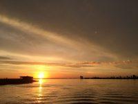 Закат на Рыбинке